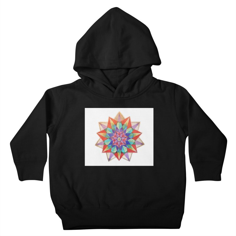 Geometric Kids Toddler Pullover Hoody by Acraftyimama's Artist Shop