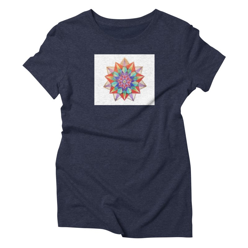 Geometric Women's Triblend T-Shirt by Acraftyimama's Artist Shop