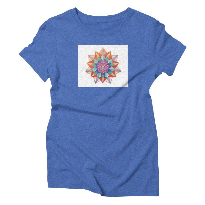 Geometric Women's Triblend T-Shirt by Acraftyimama's Artist Shop
