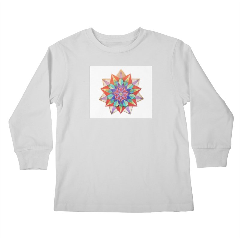 Geometric Kids Longsleeve T-Shirt by Acraftyimama's Artist Shop