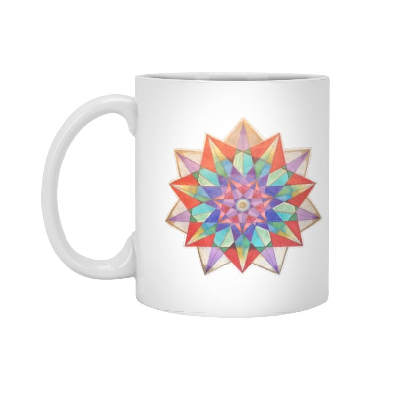 Geometric Accessories Standard Mug by Acraftyimama's Artist Shop