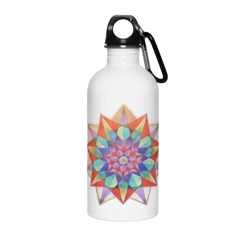Geometric Accessories Water Bottle by Acraftyimama's Artist Shop