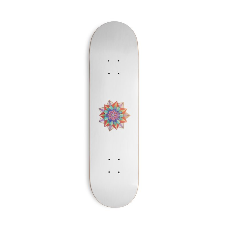 Geometric Accessories Deck Only Skateboard by Acraftyimama's Artist Shop