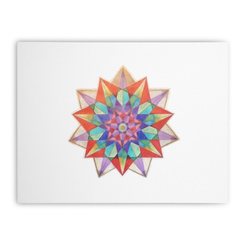 Geometric Home Stretched Canvas by Acraftyimama's Artist Shop