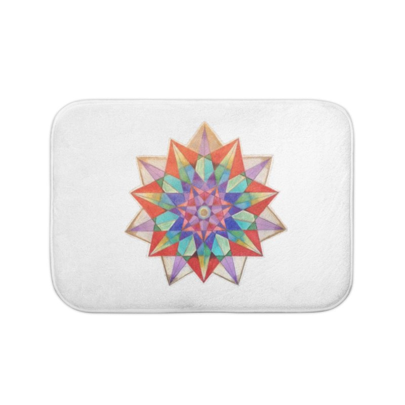 Geometric Home Bath Mat by Acraftyimama's Artist Shop