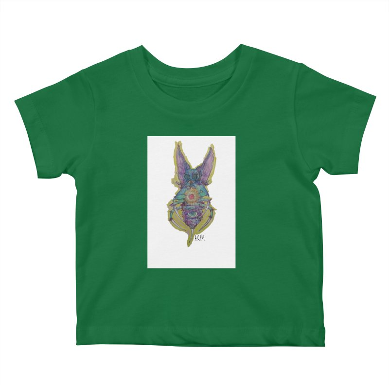 Bug-thing Kids Baby T-Shirt by Acraftyimama's Artist Shop
