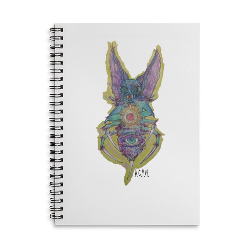 Bug-thing Accessories Lined Spiral Notebook by Acraftyimama's Artist Shop