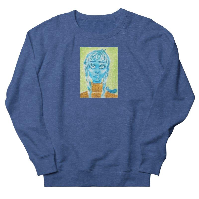 Blue Girl Men's Sweatshirt by AcrylicArtisan's Artist Shop