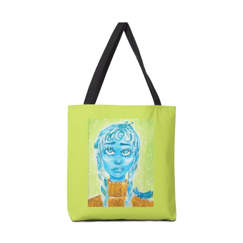 Blue Girl Accessories Bag by AcrylicArtisan's Artist Shop