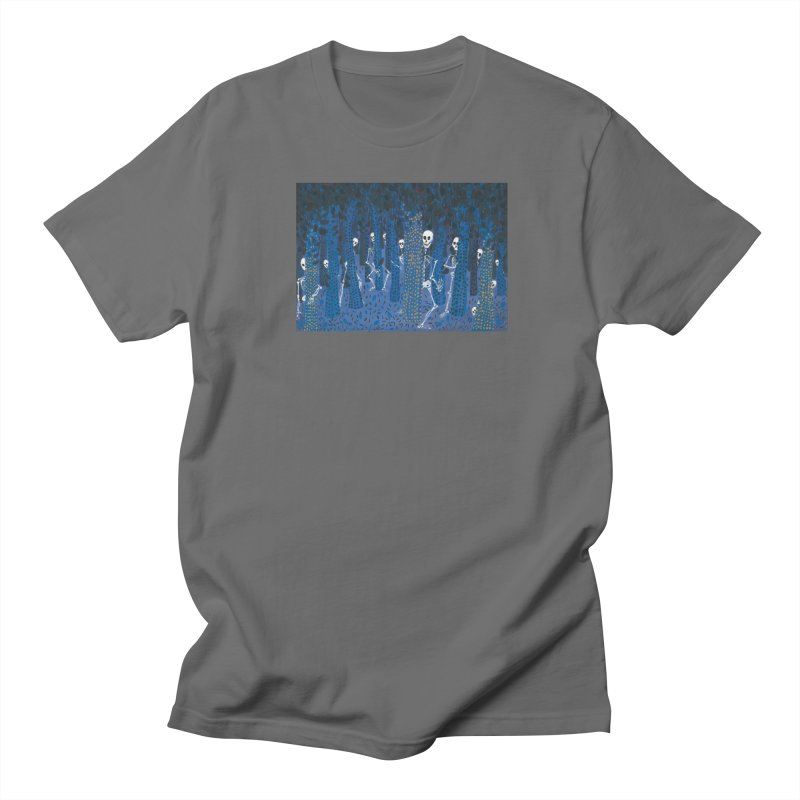 Skeleton Forest Men's T-Shirt by AcrylicArtisan's Artist Shop