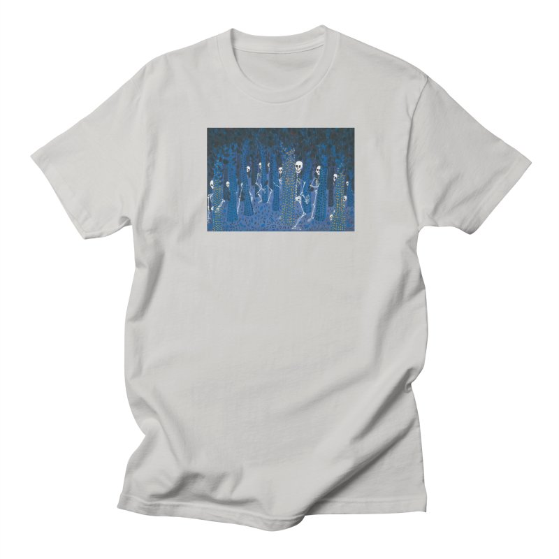 Skeleton Forest Women's T-Shirt by AcrylicArtisan's Artist Shop