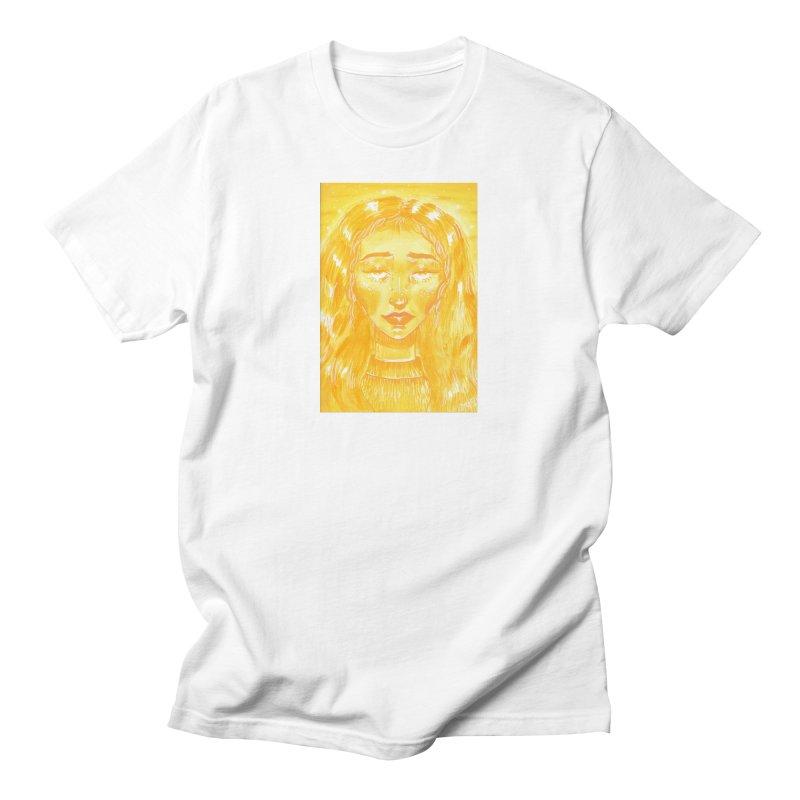 Orange Girl Women's T-Shirt by AcrylicArtisan's Artist Shop