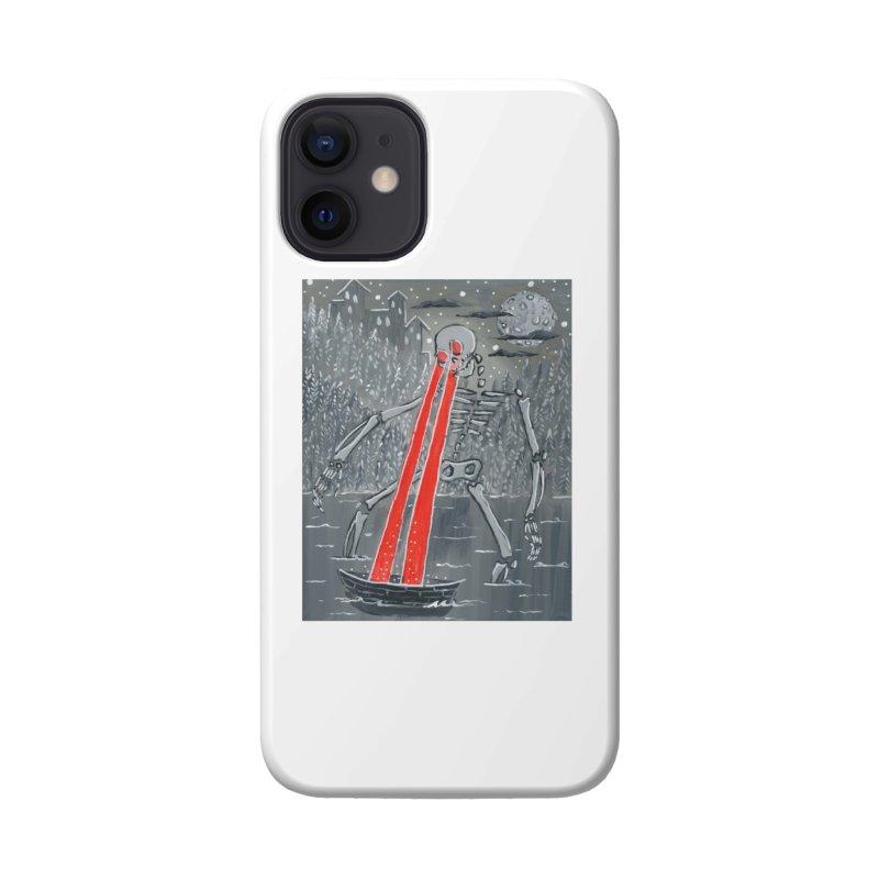 Laser Beam Skeleton Accessories Phone Case by AcrylicArtisan's Artist Shop