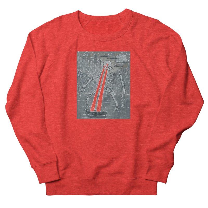 Laser Beam Skeleton Women's Sweatshirt by AcrylicArtisan's Artist Shop