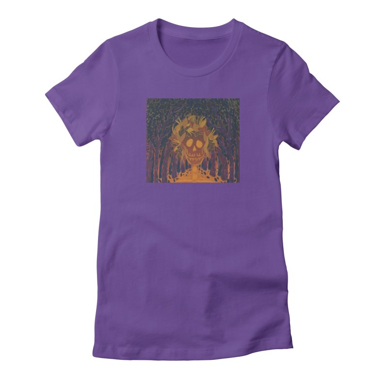 Autumn Skeleton Women's T-Shirt by AcrylicArtisan's Artist Shop