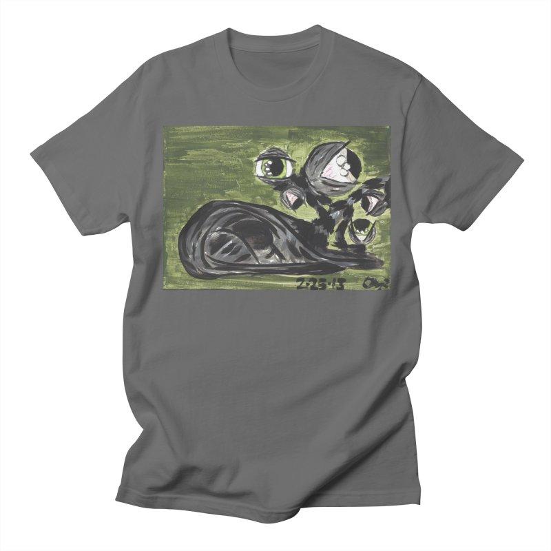 Monster Cat Men's T-Shirt by AcrylicArtisan's Artist Shop