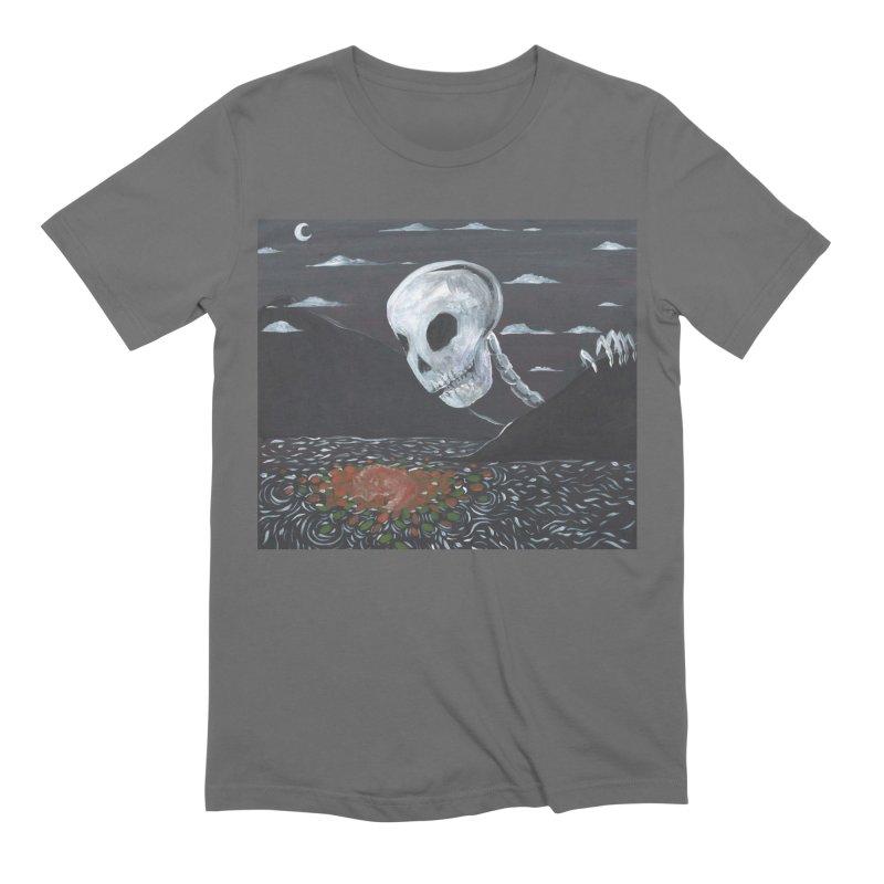 Drifting Fox Men's T-Shirt by AcrylicArtisan's Artist Shop