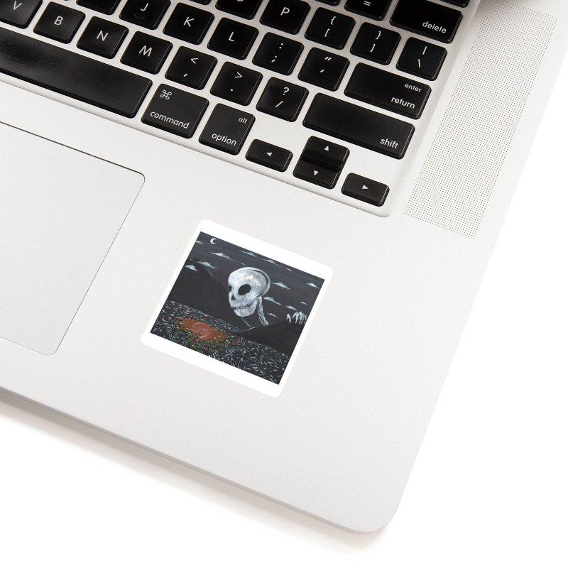 Drifting Fox Accessories Sticker by AcrylicArtisan's Artist Shop