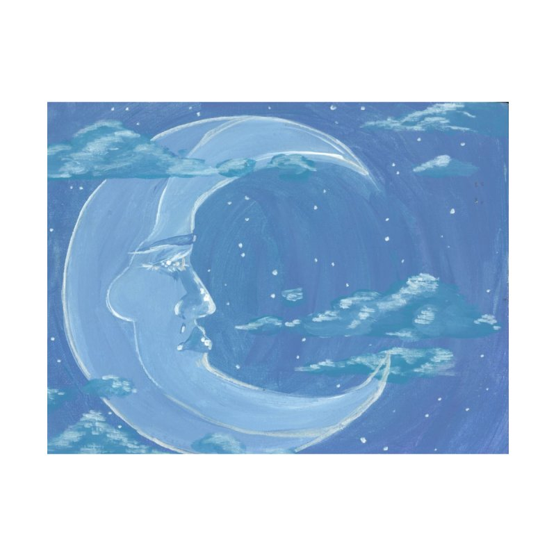 Dreamy Moon Men's T-Shirt by AcrylicArtisan's Artist Shop