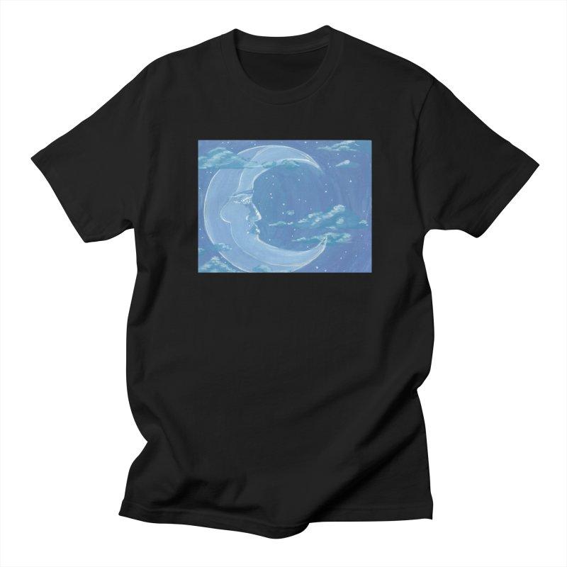 Dreamy Moon Men's T-Shirt by AcrylicArtisan's Artist Shop