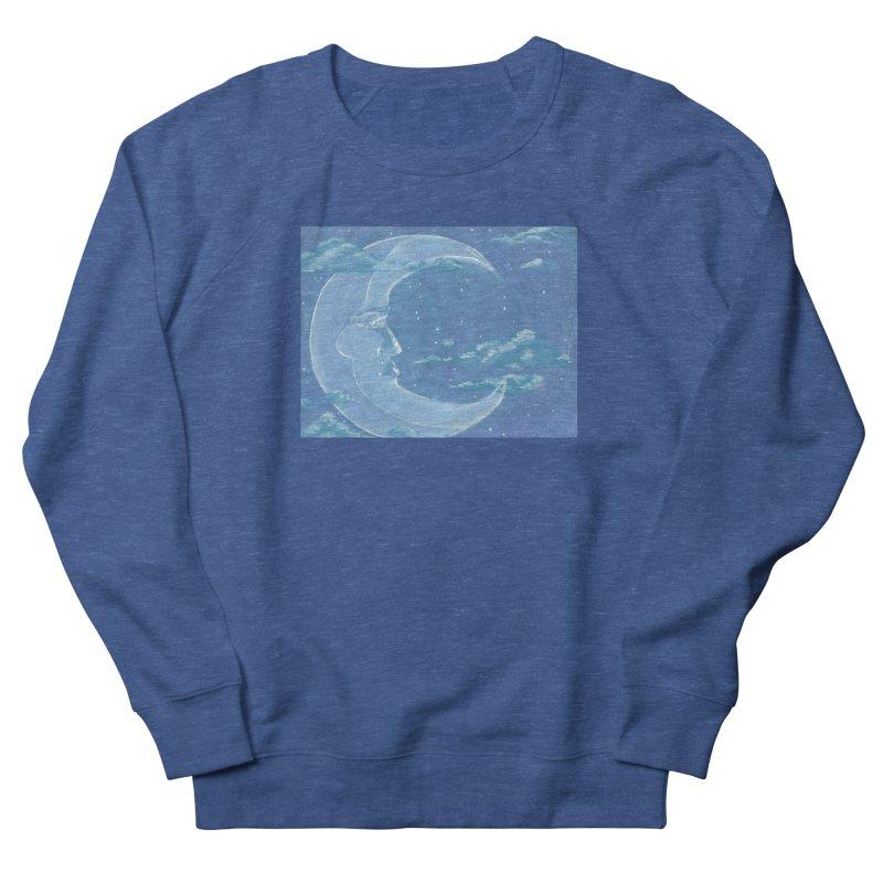 Dreamy Moon Women's Sweatshirt by AcrylicArtisan's Artist Shop