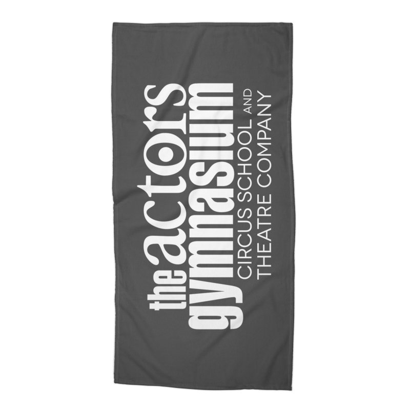 Classic Logo Accessories Beach Towel by The Actors Gymnasium