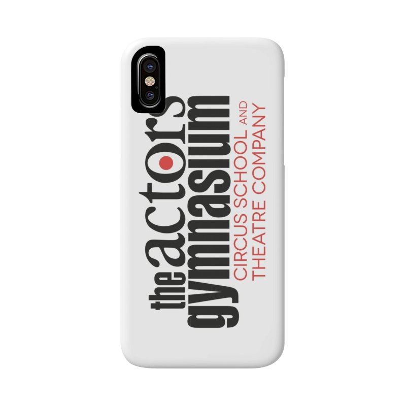 Classic Logo Accessories Phone Case by The Actors Gymnasium