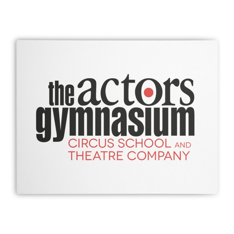 Classic Logo Home Stretched Canvas by The Actors Gymnasium