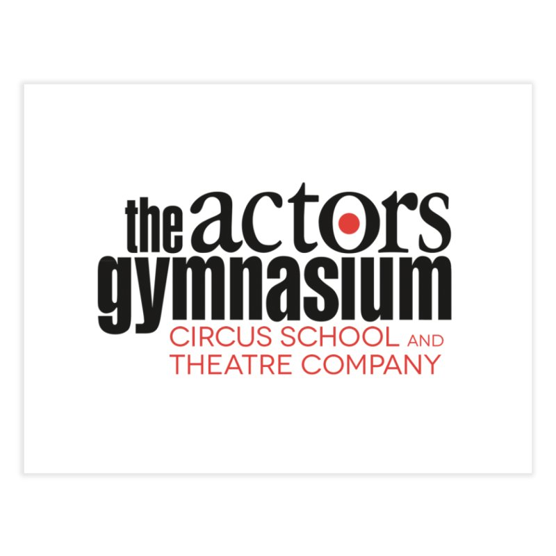 Classic Logo Home Fine Art Print by The Actors Gymnasium