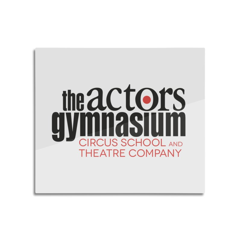 Classic Logo Home Mounted Aluminum Print by The Actors Gymnasium