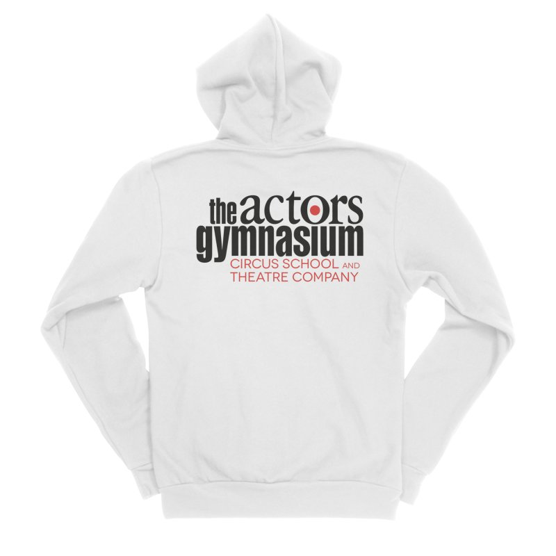 Classic Logo Women's Sponge Fleece Zip-Up Hoody by The Actors Gymnasium