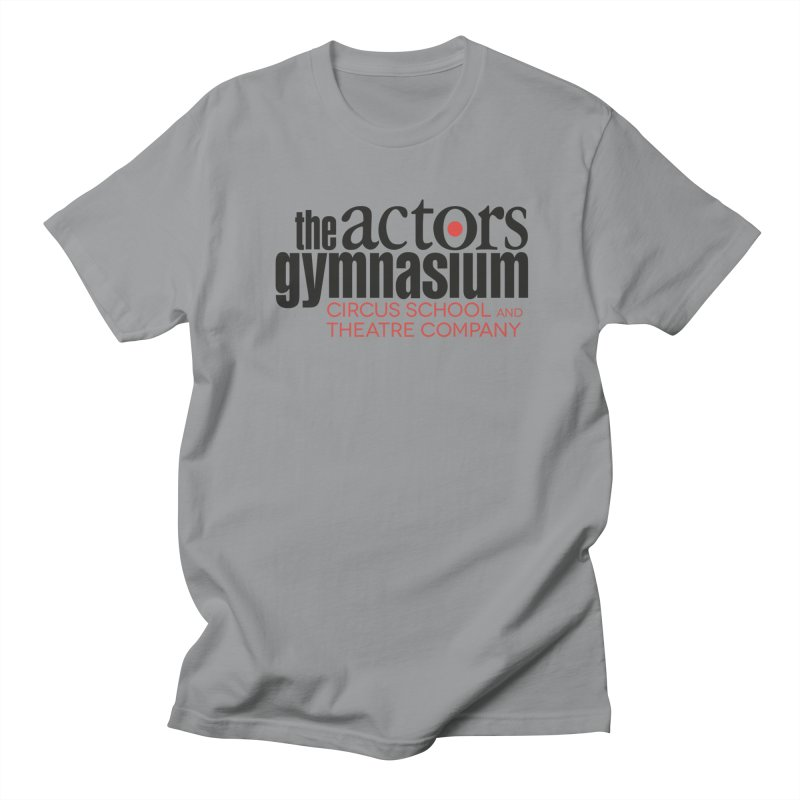 Classic Logo Men's Regular T-Shirt by The Actors Gymnasium