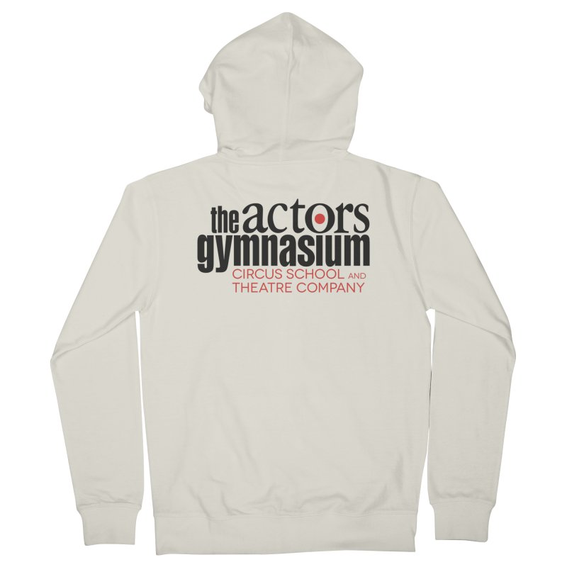 Classic Logo Men's French Terry Zip-Up Hoody by The Actors Gymnasium