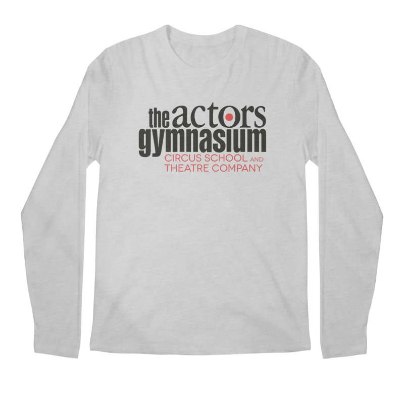 Classic Logo Men's Regular Longsleeve T-Shirt by The Actors Gymnasium