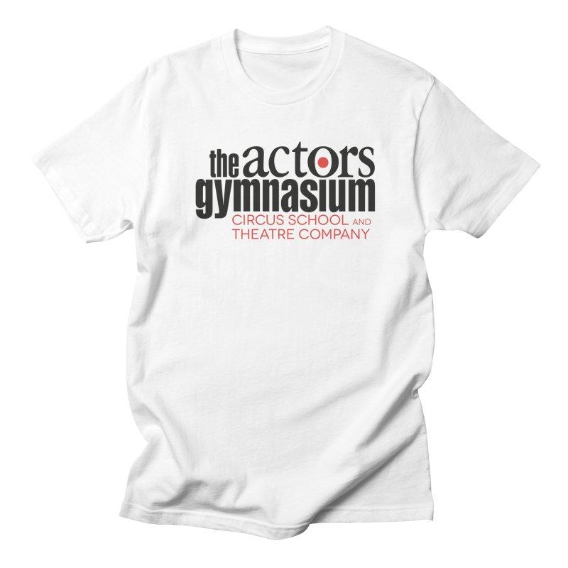 Classic Logo Men's Regular T-Shirt by The Actors Gymnasium