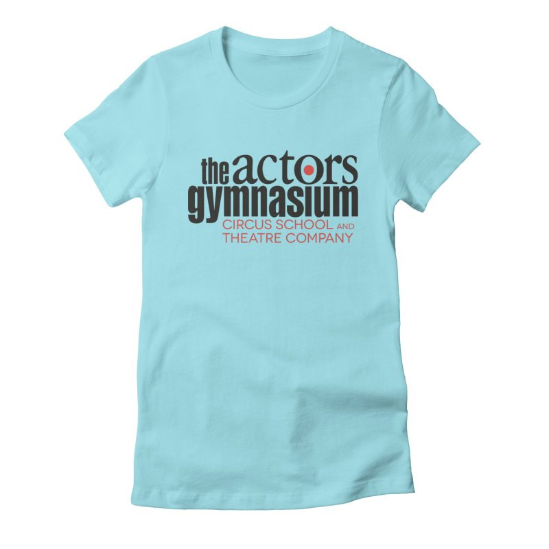 Classic Logo Women's Fitted T-Shirt by The Actors Gymnasium