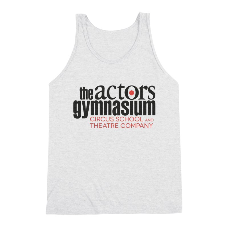 Classic Logo Men's Triblend Tank by The Actors Gymnasium