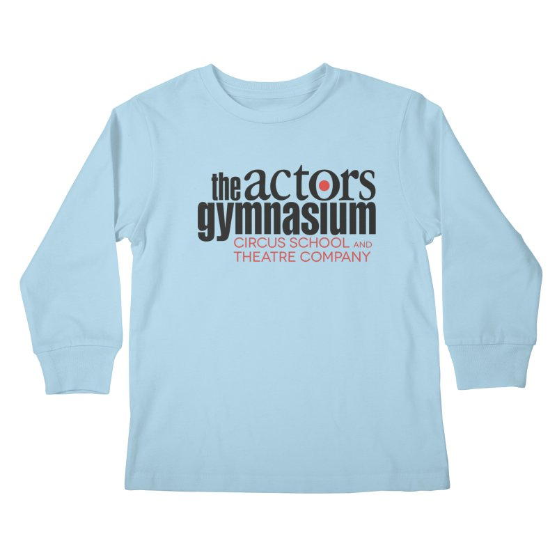 Classic Logo Kids Longsleeve T-Shirt by The Actors Gymnasium