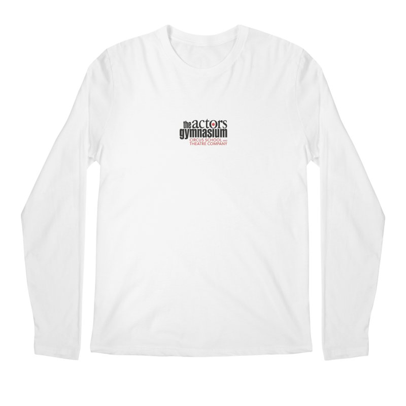 Classic Logo Men's Regular Longsleeve T-Shirt by The Actors Gymnasium