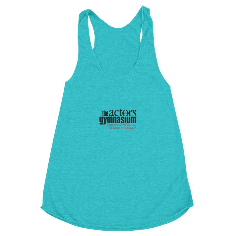 Classic Logo Women's Racerback Triblend Tank by The Actors Gymnasium