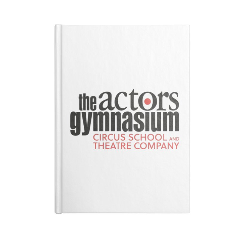 Classic Logo Accessories Blank Journal Notebook by The Actors Gymnasium