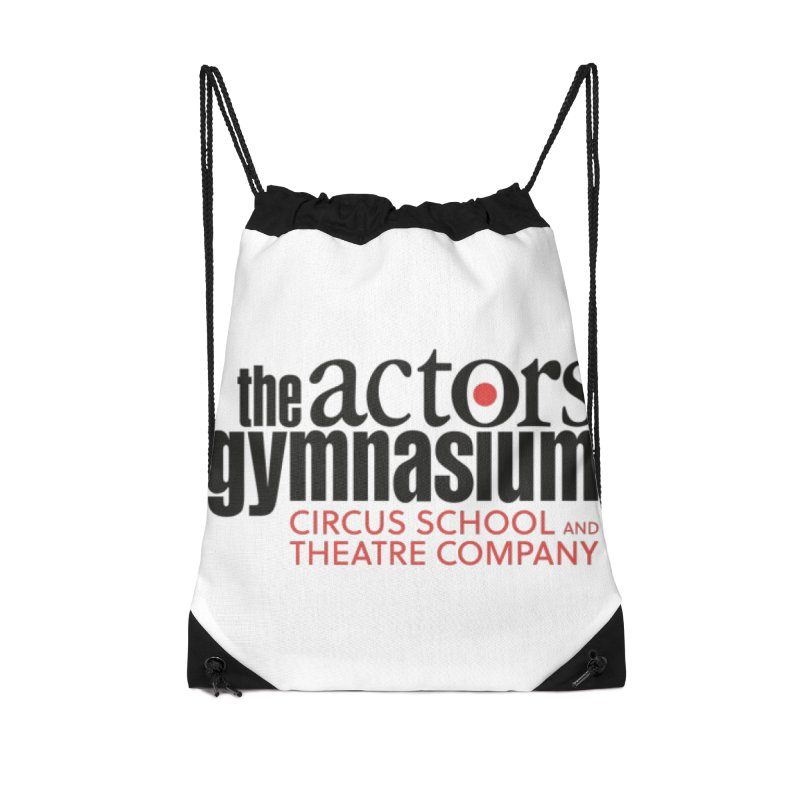 Classic Logo Accessories Drawstring Bag Bag by The Actors Gymnasium