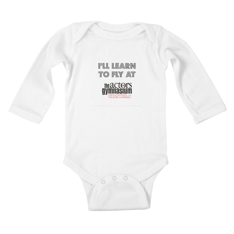 I'll Learn To Fly Kids Baby Longsleeve Bodysuit by The Actors Gymnasium
