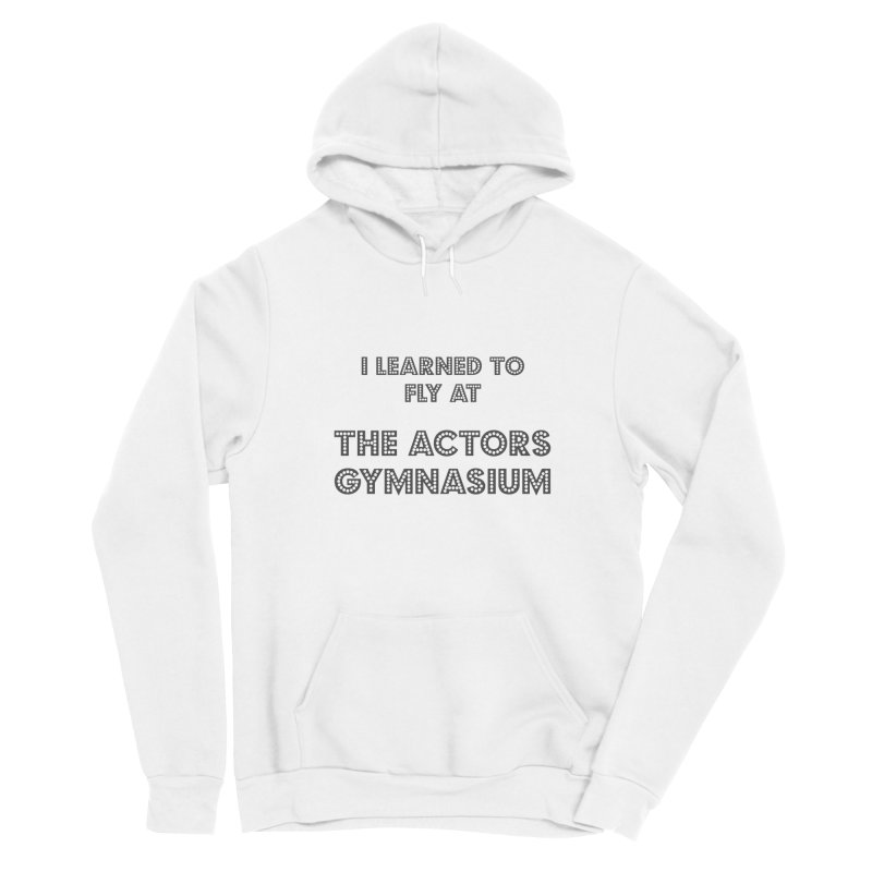 I Learned to Fly Men's Sponge Fleece Pullover Hoody by The Actors Gymnasium