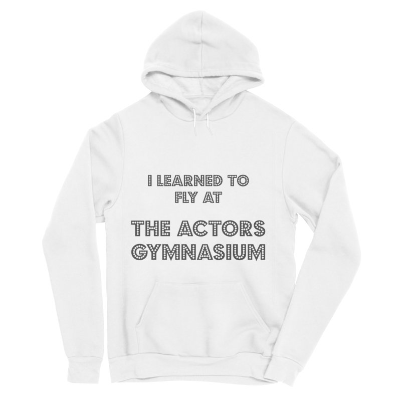 I Learned to Fly Women's Sponge Fleece Pullover Hoody by The Actors Gymnasium