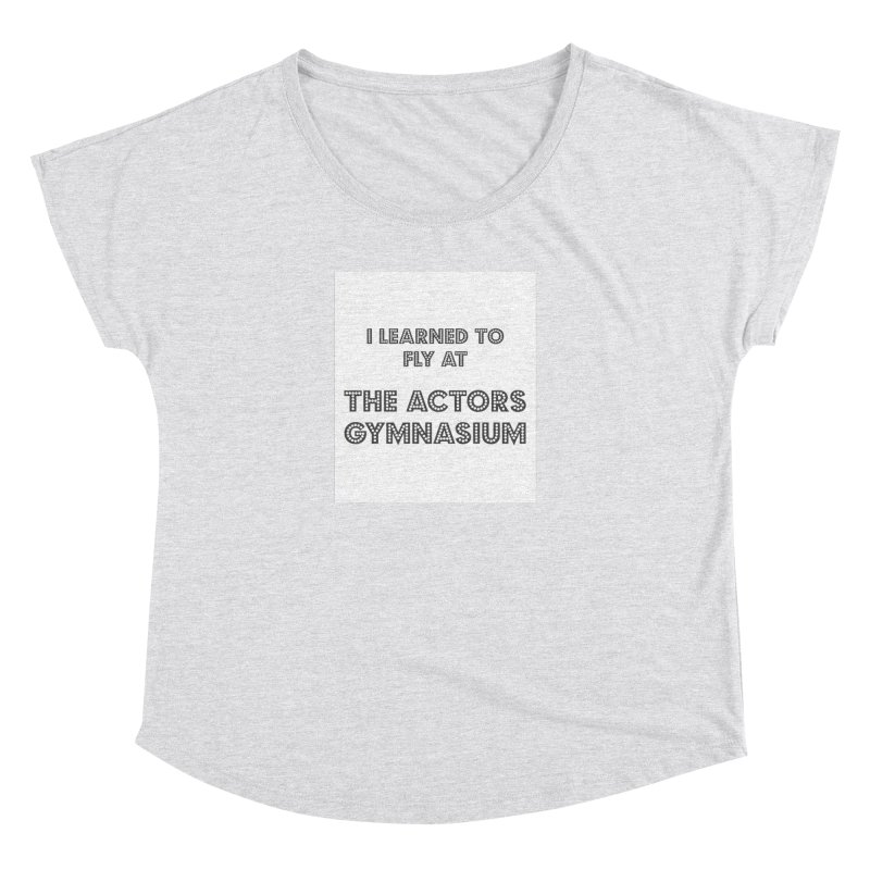 I Learned to Fly Women's Scoop Neck by The Actors Gymnasium