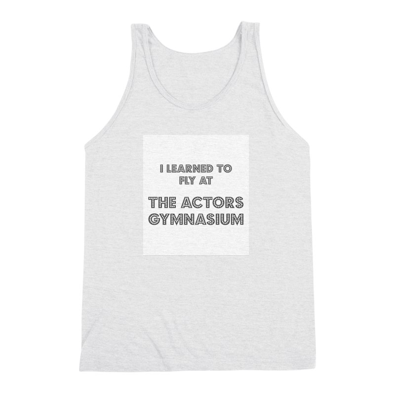 I Learned to Fly Men's Triblend Tank by The Actors Gymnasium