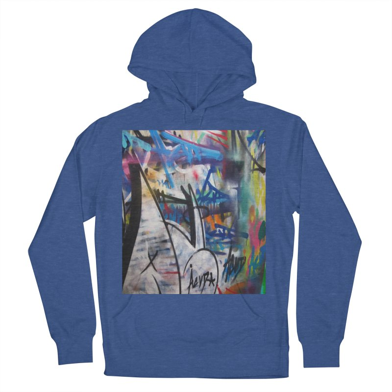 ACUT Graffiti Men's French Terry Pullover Hoody by Acut's Artist Shop