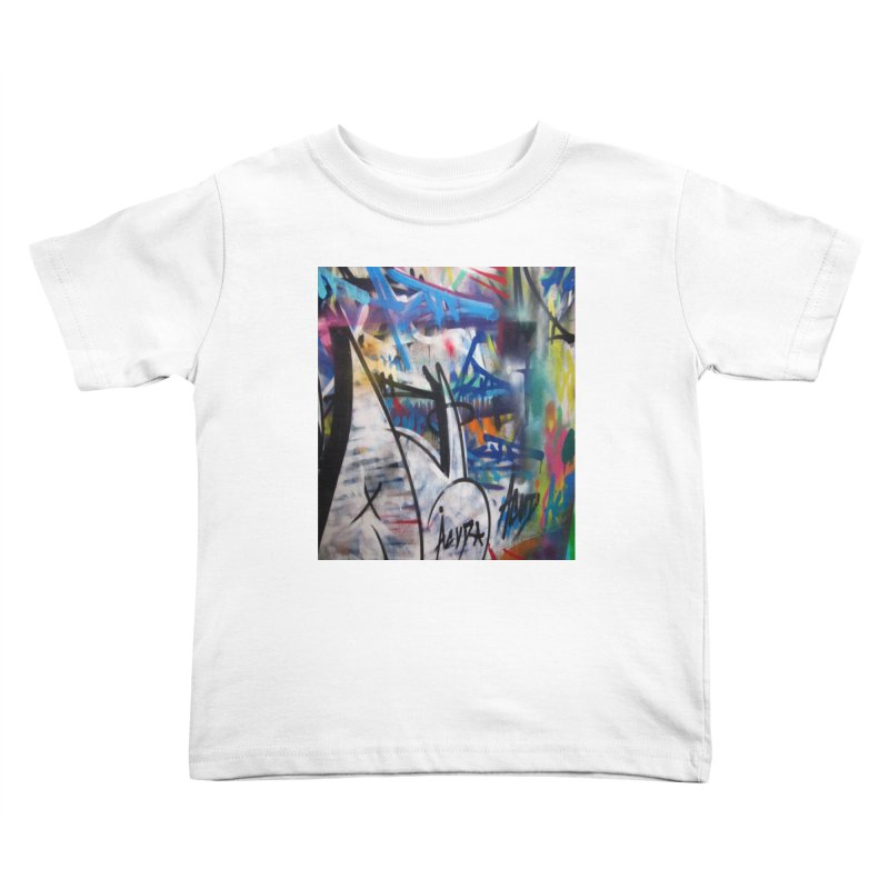 ACUT Graffiti Kids Toddler T-Shirt by Acut's Artist Shop