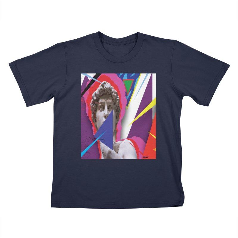 ACUT_PROTOTYPE Kids T-Shirt by Acut's Artist Shop